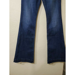 "Silver Jeans Co women's dark wash ""Avery"" high rise jeans size 28"