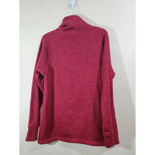 Load image into Gallery viewer, ideology women's red cowl neck pullover active top size L