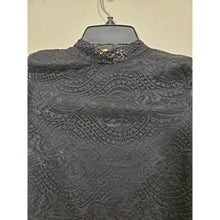 Load image into Gallery viewer, Crave Fame women's lace long sleeve top size S
