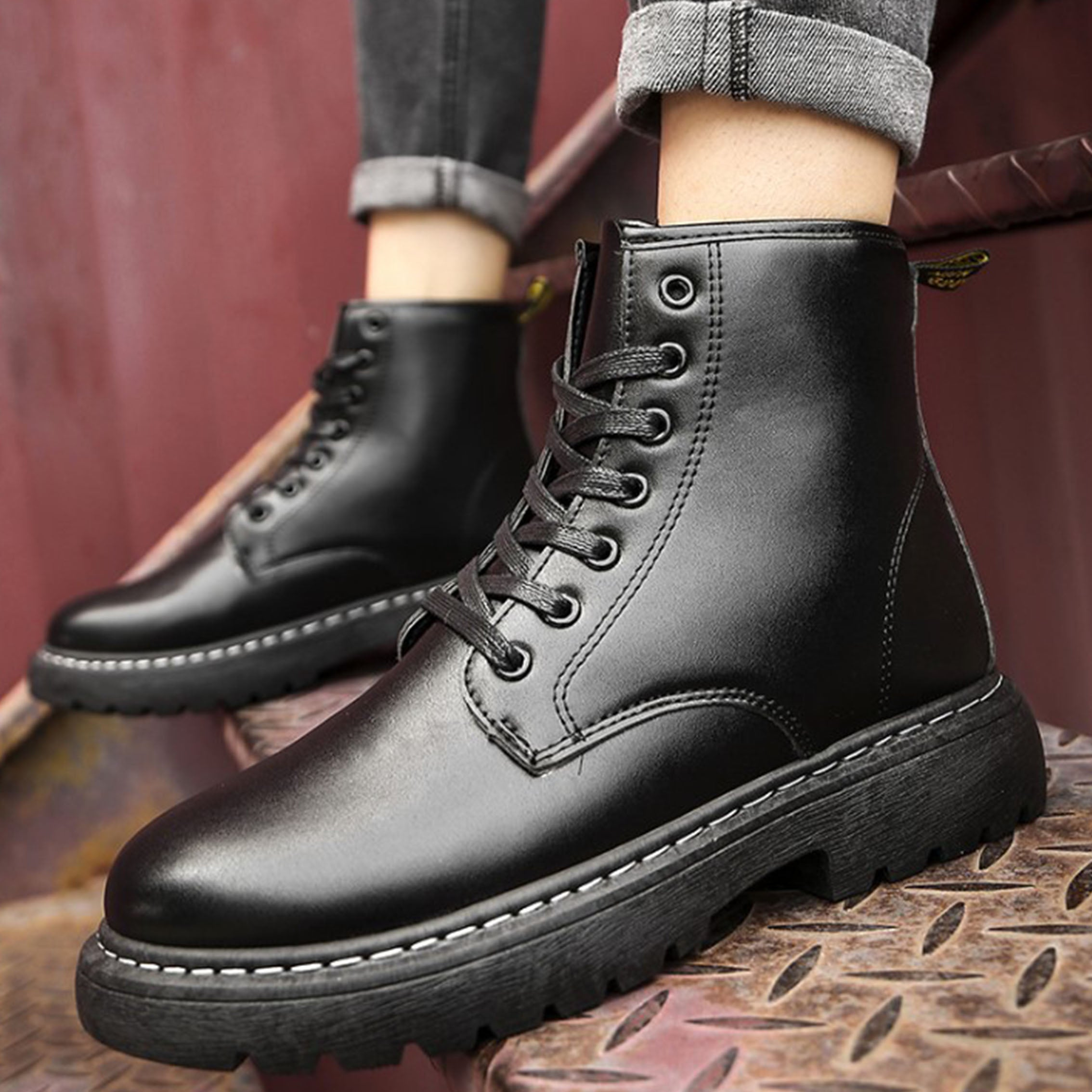 Men's Lace-up Comfortable Casual Martin Boots