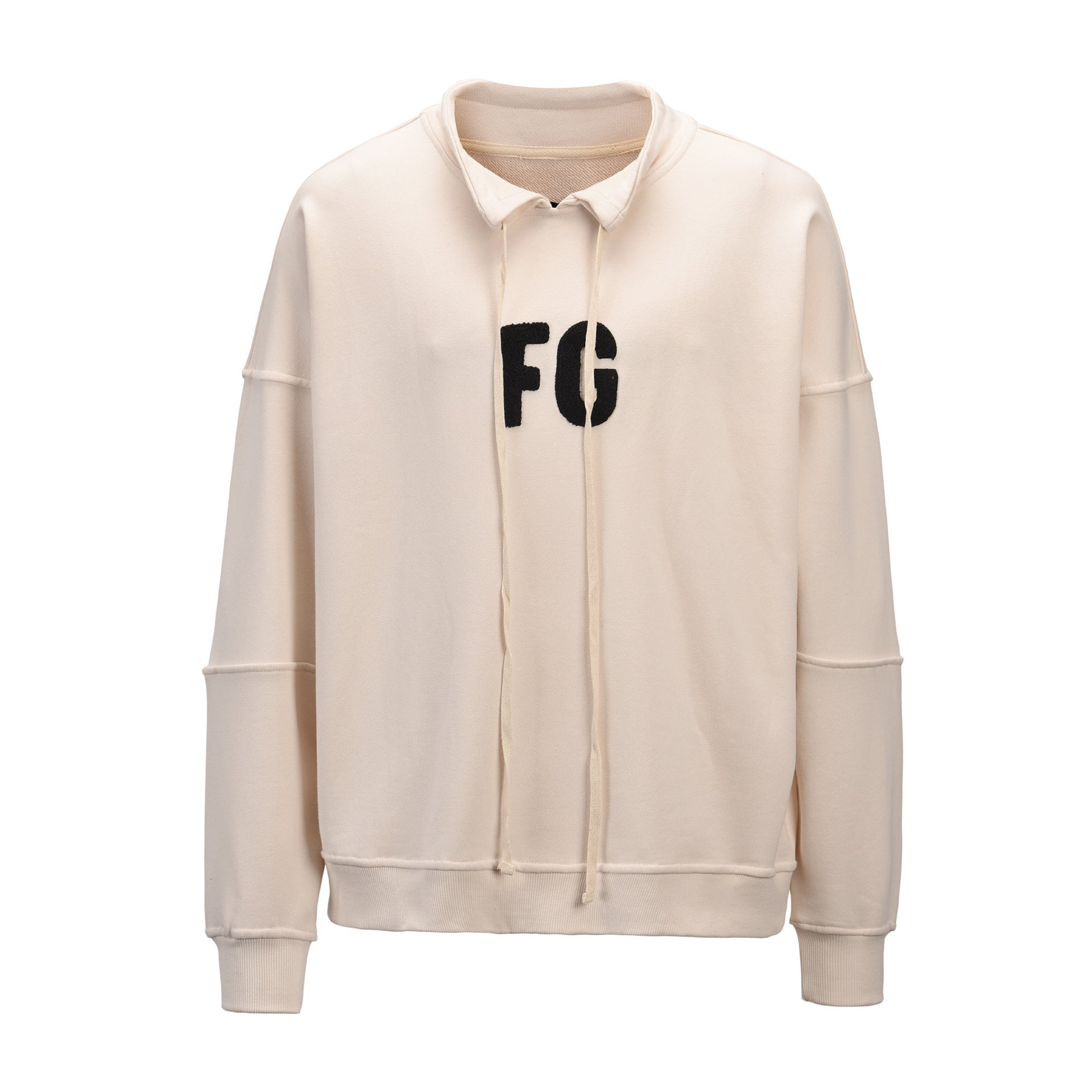 Mens Fashion Casual FOG Stand Collar Sweater