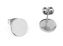 Load image into Gallery viewer, Mini Circular Earrings