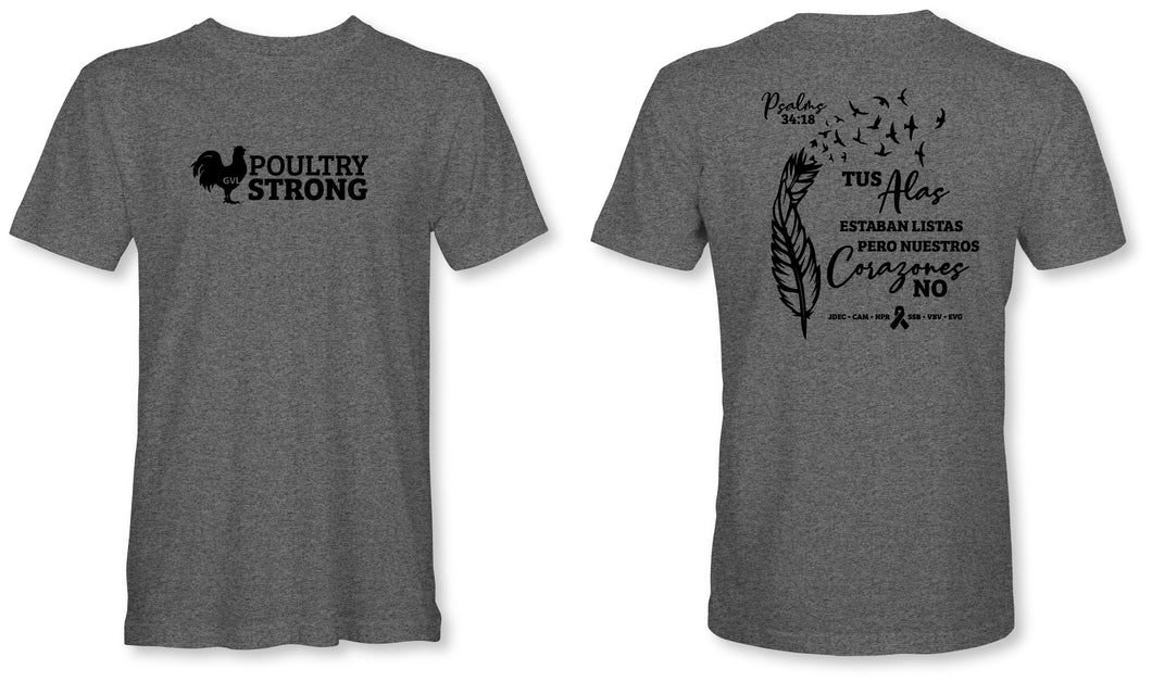#PoultryStrong Tee - Spanish