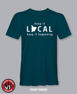 Keep It Local - Dark Teal Tee