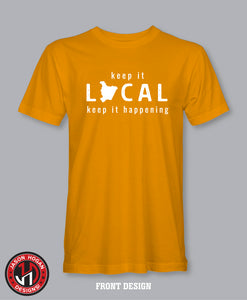Keep It Local - Mustard Tee