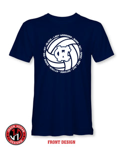 2020 WCMS Lady Warriors Volleyball Shirt
