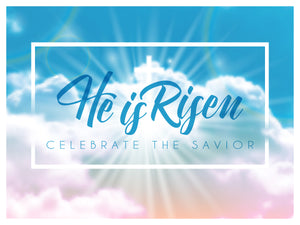 He Is Risen Yard Sign (shipped)