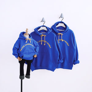 2019 Family Matching Clothes Long Sleeves Mom Son Outfits hooded Jacket cotton Coat for Girls Mommy and Me Clothes fashion Suit