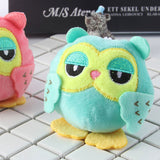 2Colors, 10CM Approx. , lovely rich fabric Toys , Stuffed Animal rich fabric Toys keymetal metal chain rich fabric dolls