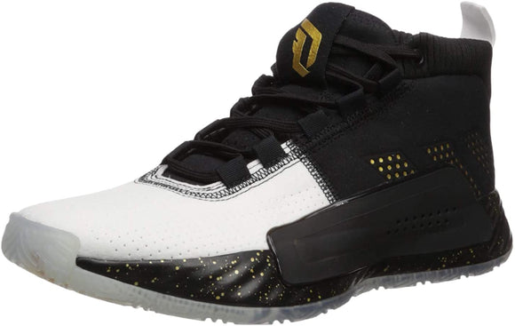 adidas Men's Dame 5 Black/Gold Metallic/White