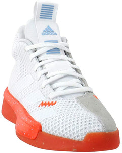 adidas Men's Pro Next 2019 Basketball Shoe Footwear White/Footwear White/Grey One F17