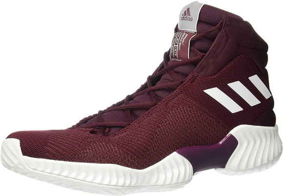 adidas Originals Men's Pro Bounce 2018 Basketball Shoe Maroon/White/Maroon