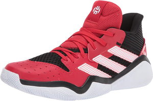 adidas Men's Harden Stepback Basketball Shoe Core Black/Scarlet/Ftwr White