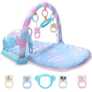 Developing sofatress For Newborns Kids Playsofatress Baby Gym Toys educating Musical Rugs With Keyboard Frame thread Rattles Mirror