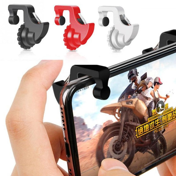 1Pair L1 R1 play Trigger cell phone Games Shooter Controller Fire Button Handle For PUBG/Rules of Survival/Knives Out