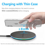 10W Qi Fast Wireless recharging For iphone
