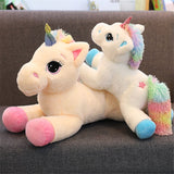 Giant Kawaii Unicorn Stuffed Animals softerer rich fabric Doll cartoon design design Unicorn Animal Horse Birthday Gift Toys for baby Kids