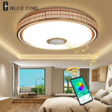 Lustres Modern LED Chandelier For Living room Bedroom Lampara techo Led Ceiling Chandeliers Lighting Bluetooth Control With Lamp