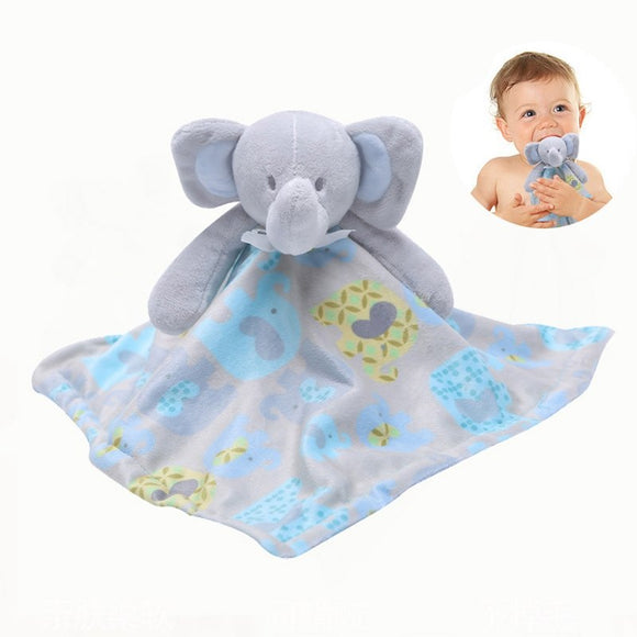 Newborn Appease Towel Baby Bear Doll 0-2years Soothing Towels great look Infant Blankie lavish Toys 38*38  Early educating Clam Toy