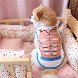Soft Cotton Spring Summer Pet Cats Vests Dog Shirt Puppy Pet Vest Clothing for Small Dog  XS S M L