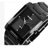 Square quartz watch men watches Luxury Original genuine Wilon fashion Couple watch women form diamond business lover clock