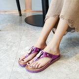 big size women's shoes, slippers, trendy and comfortable cross-border sandals, casual wear beach slippers, a generation of hair