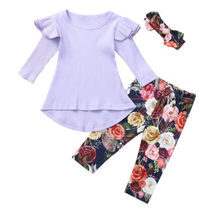 Toddler Floral Outfit Set