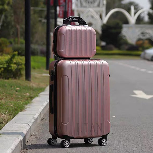 travel rolling luggage suitcase