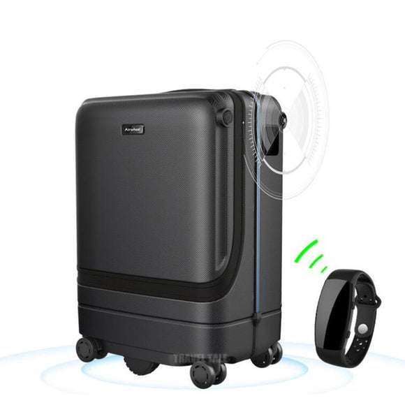 Electronic Carry on Luggage Suitcase