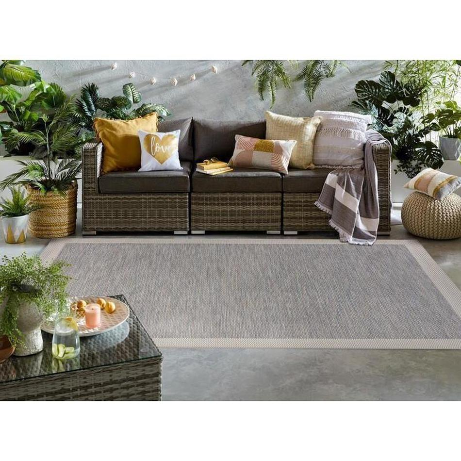 Lipari Marl Outdoor Blue Rug-Flair Rugs-Rug Love - The Most Loved Rug Store