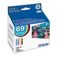 69 Combo Ink Cartridges