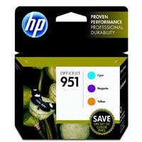 951 Color Ink Cartridge Combo Pack