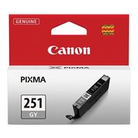 6517B001 Inkjet Cartridge for CLI251 Gray Inkjet for Pixma iP7220/MG5240/MG6320