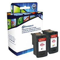 Remanufactured Canon PG210/CL211 Ink Cartridge Combo Pack