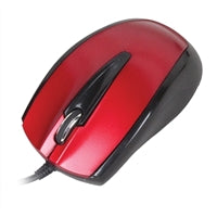 USB Optical Mouse - Red
