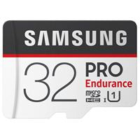 PRO Endurance 32GB 100MB/s (U1) MicroSDXC Memory Card with Adapter (MB-MJ32GA/AM)