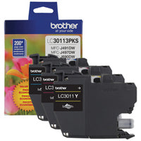 LC3011 Color Ink Cartridge 3-Pack