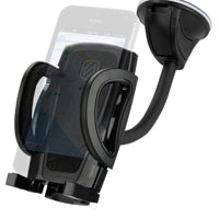 stuckUP Grip Clip 4-in-1 Phone Mount - Black
