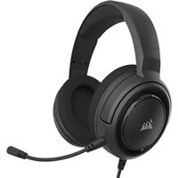 HS35 Stereo Wired Gaming Headset - Black