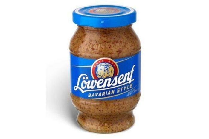Lowensenf Bavarian Sweet Mustard Jar - 10.05 Ounces