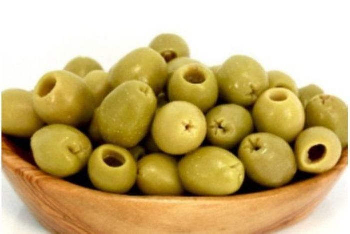 French Green Provencal Olives - Pitted - pint