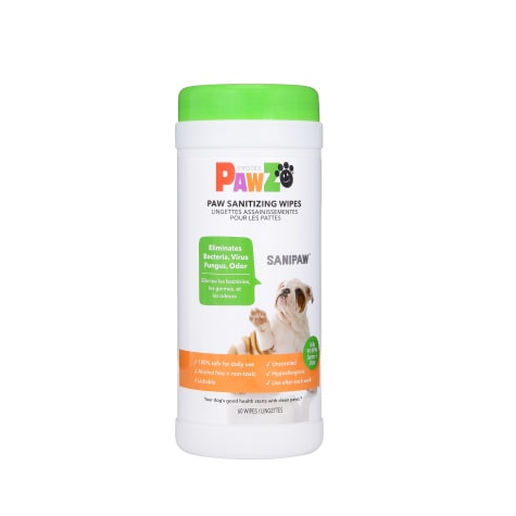 Pawz Sanitizing Wipes for Dogs