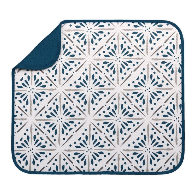 The Original™ Dish Drying Mat in Burst Print