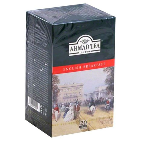 Ahmad Tea Tea, English Breakfast - 20 Each