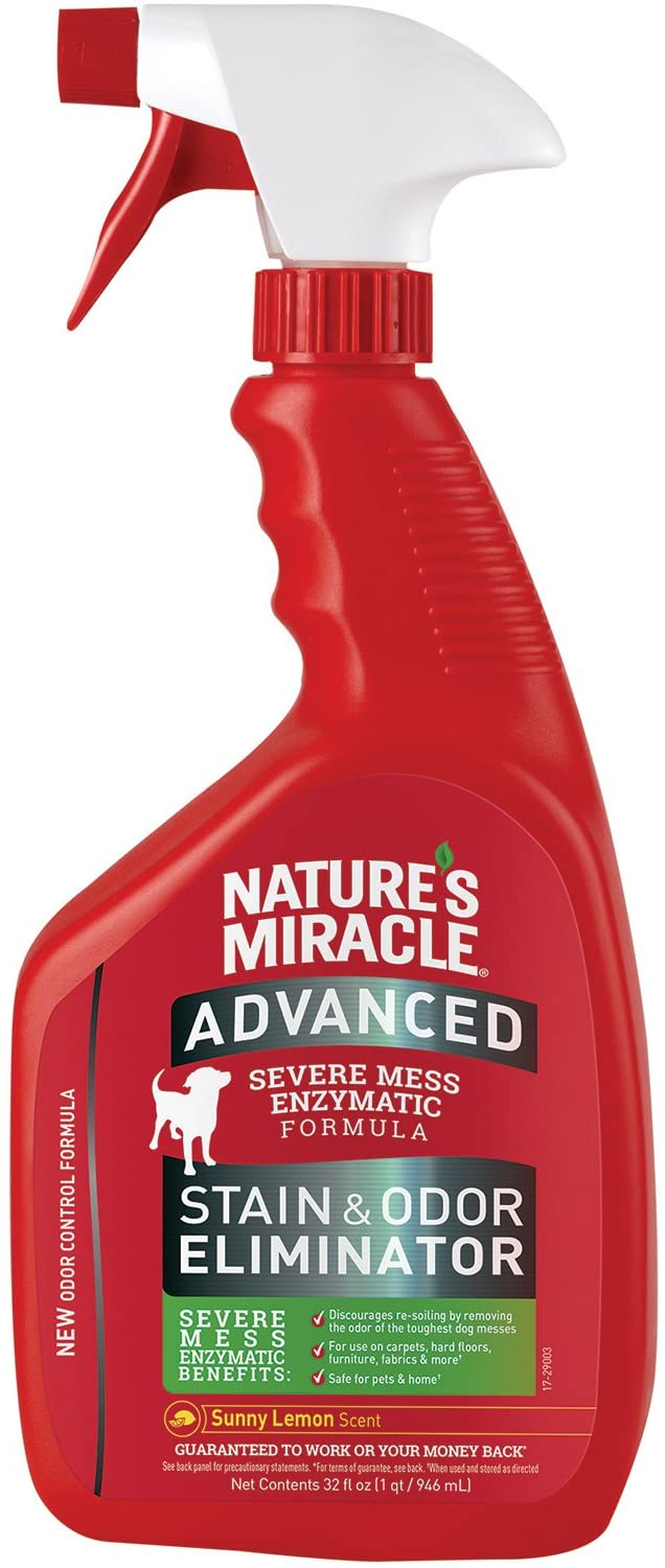 Nature's Miracle Advanced Stain & Odor Eliminator Lemon Scented 32fl oz