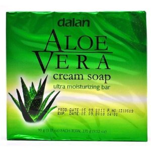 Dalan Ultra Moisturizing Cream Soap Aloe Vera 3-Pack 3x90g