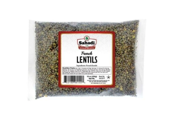Sahadi French Lentils - 16 Ounces