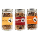 Flatbush 'Flight': Crunchy Nutty Granola Mix Sampler