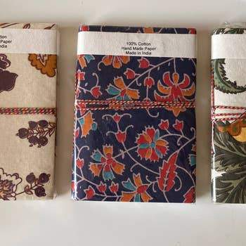 Indian Journals Fabric Covered Journals
