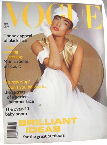 British Vogue  May 1992
